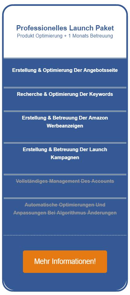 Amazon Seo Agentur Preistabelle Mitte