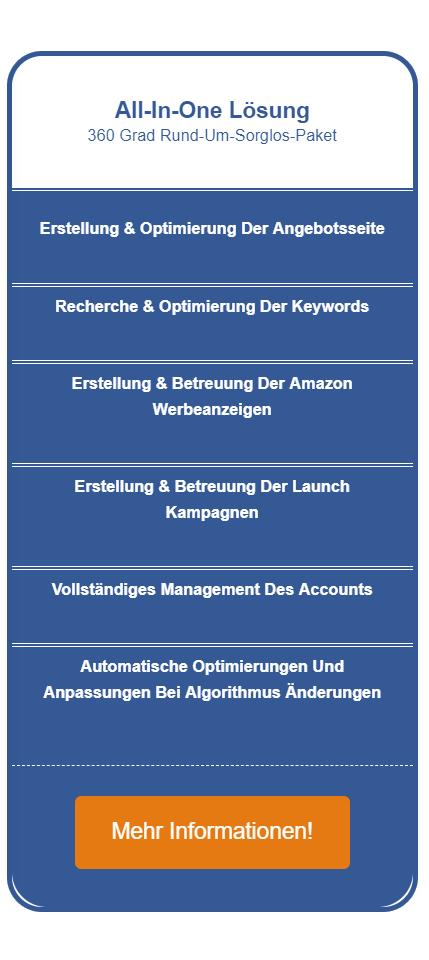 Amazon Seo Agentur Preistabelle rechts